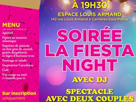 Dernière soirée La Fiesta Night avant 2020 !