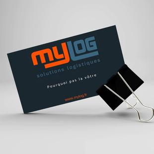 Logo et Carte de visite - MyLog