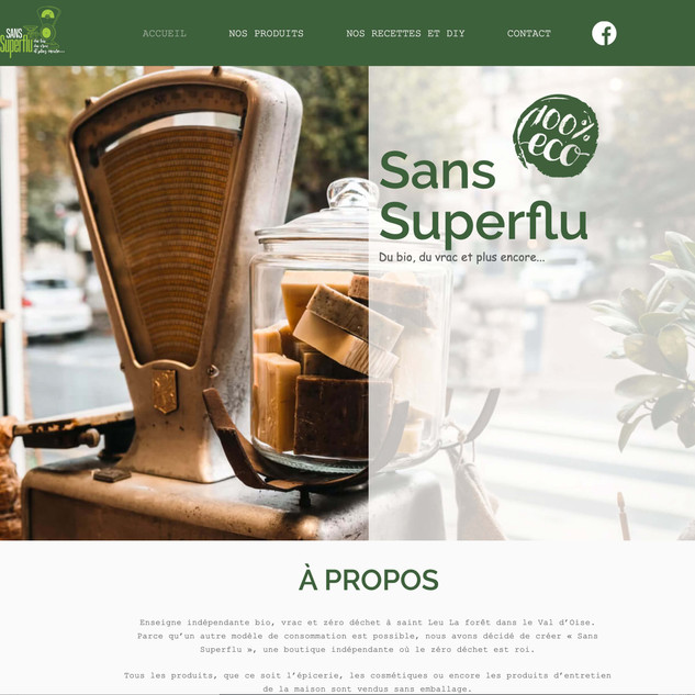SANS SUPERFLU