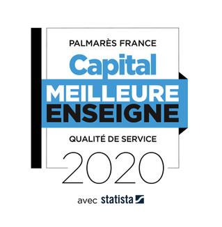Meilleure enseigne - Qualité de service 2020