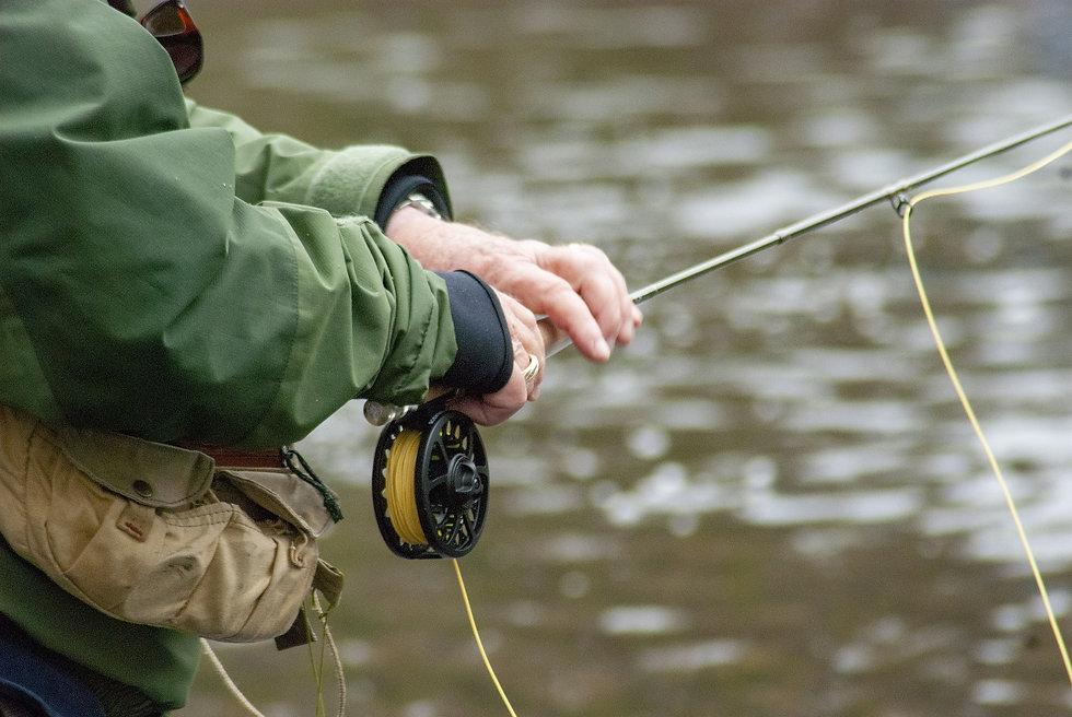 Vliegvissen hengel hengelsport gids gidsen fly fishing guide