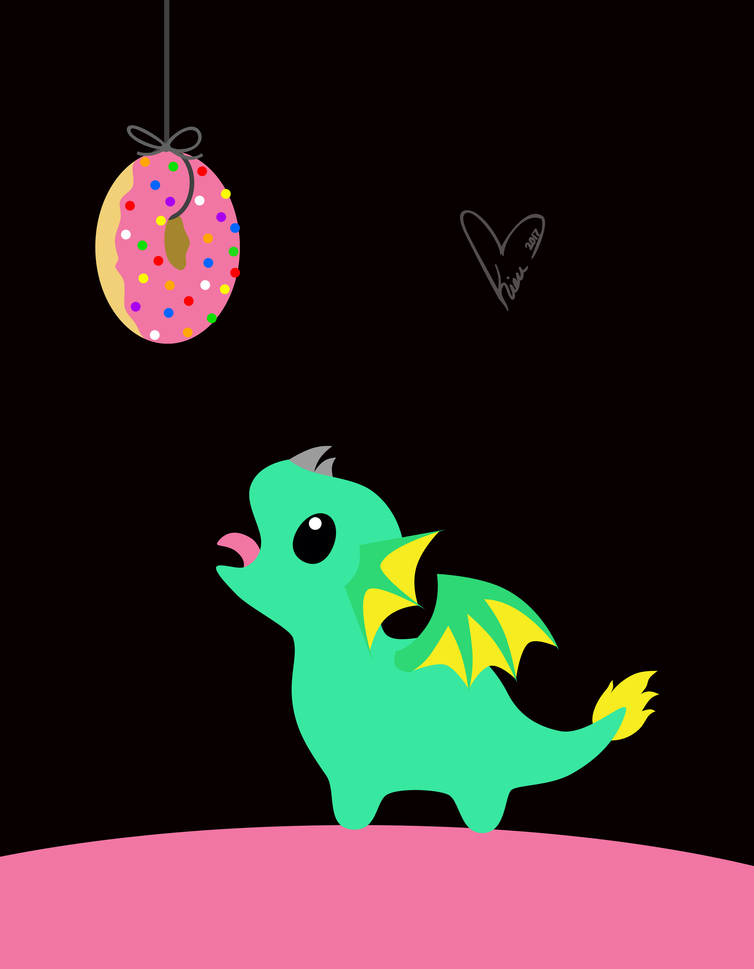 Donut Dragon