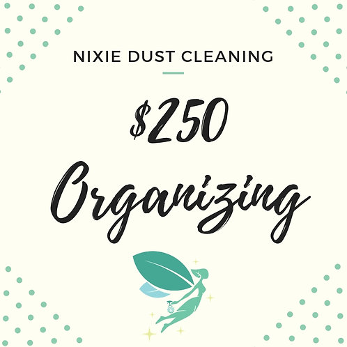 $250 Organizing Gift Card