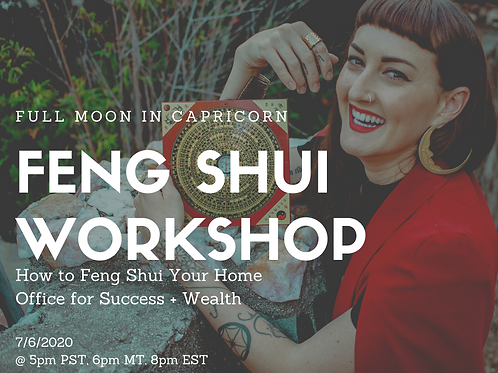 How to Feng Shui Your Office for Success + Wealth
