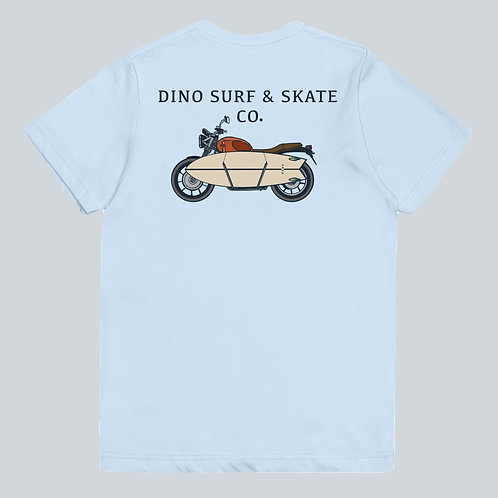 Youth Dino Motorcycle Tee