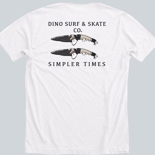 Dino Simpler Times Tee