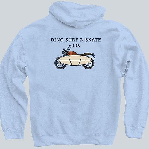 Dino Motorcycle Hoodie