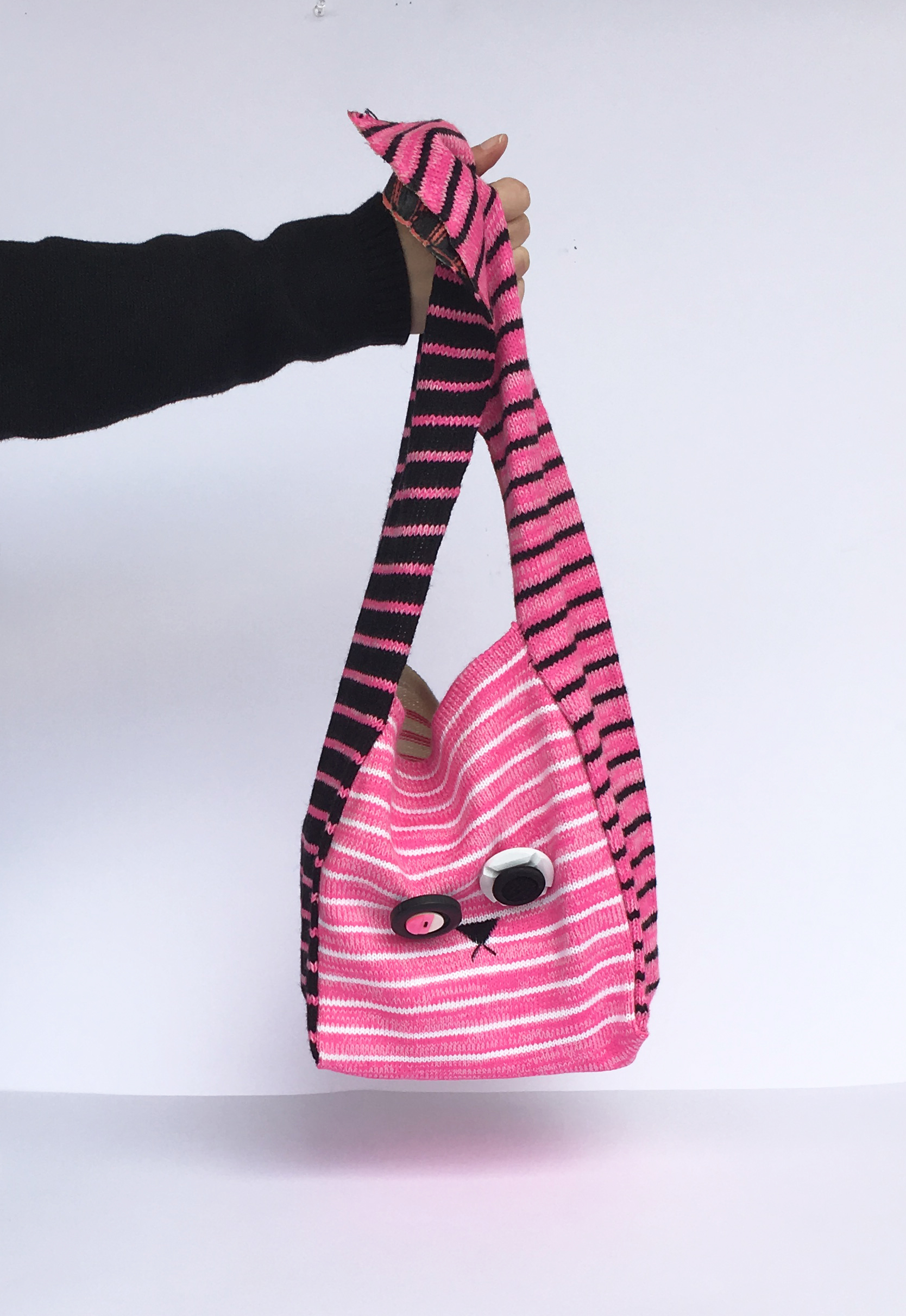 Knitted bunny bag   2016