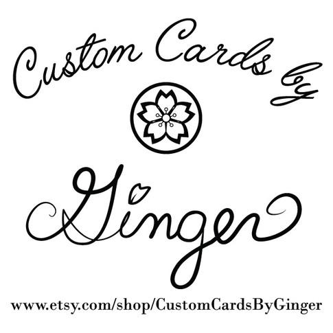 Custom Cards by Ginger logo
