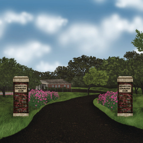 Wharton County Country Club Concept Drawing