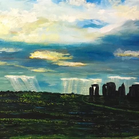 Sky Over Stonehenge
