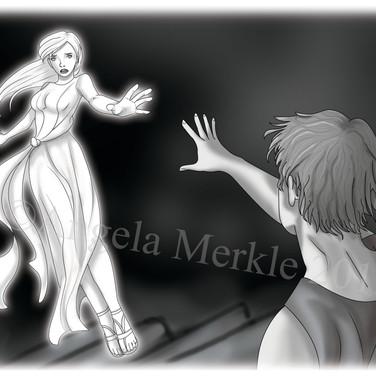 Eurydice falls back to the underworld