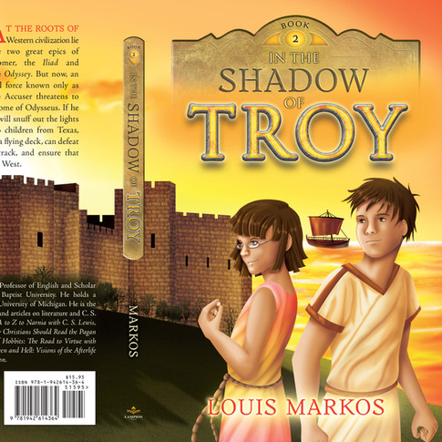 In the Shadow of Troy cover