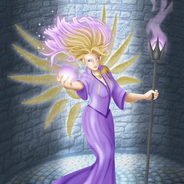 Aasimar Sorceress