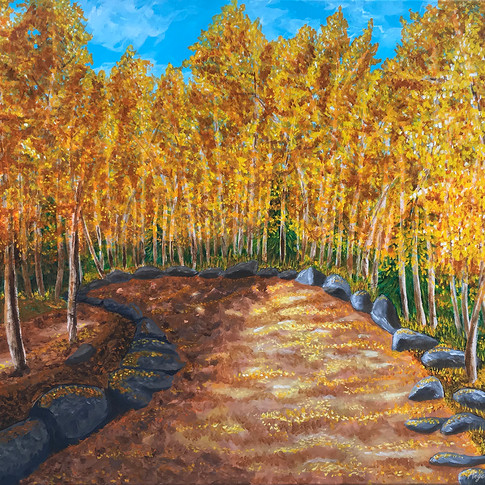 Autumn Path from Bear Lake (large version)