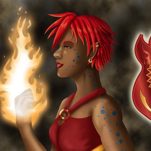Illustration of my original character