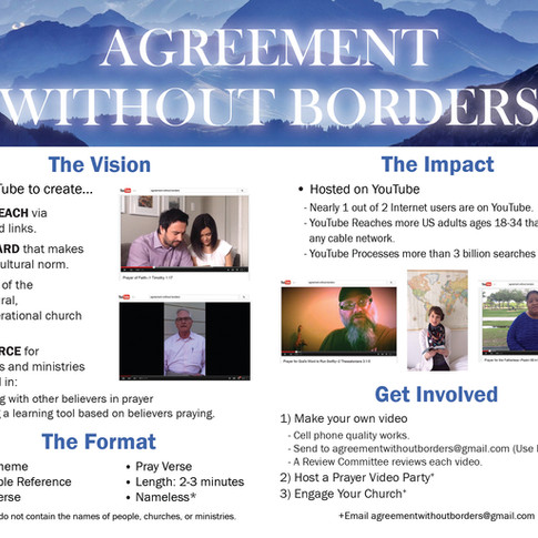 Agreement Without Border brochure inside