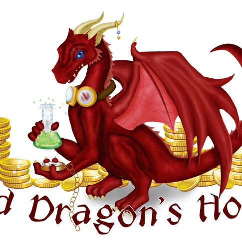 Mad Dragon's Hoard logo