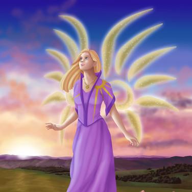 Evangeline Morningsun, Aasimar Sorceress