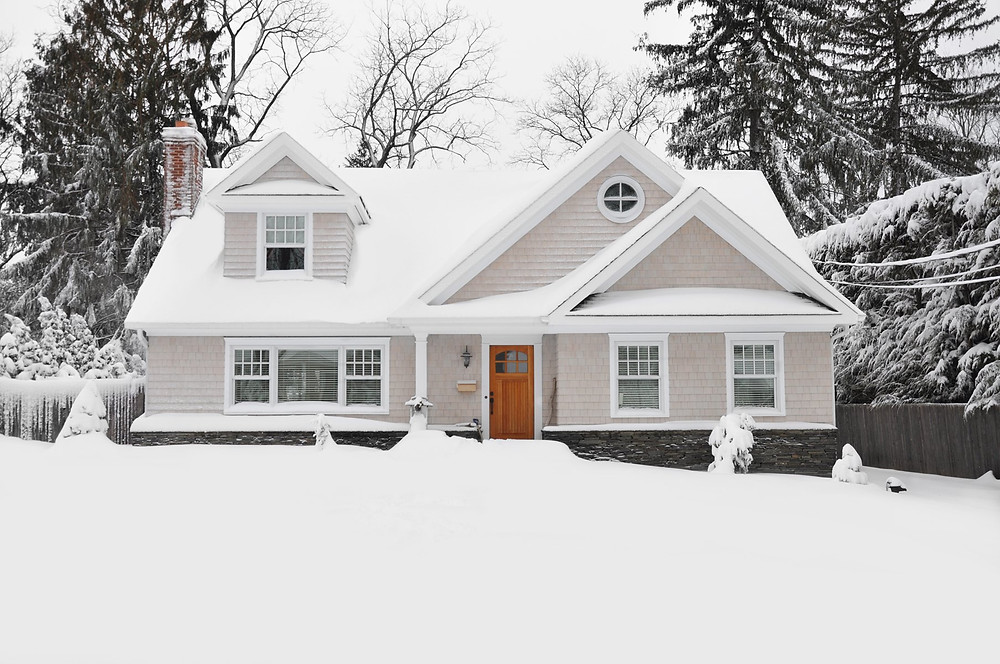 Would you buy this house in the snow?