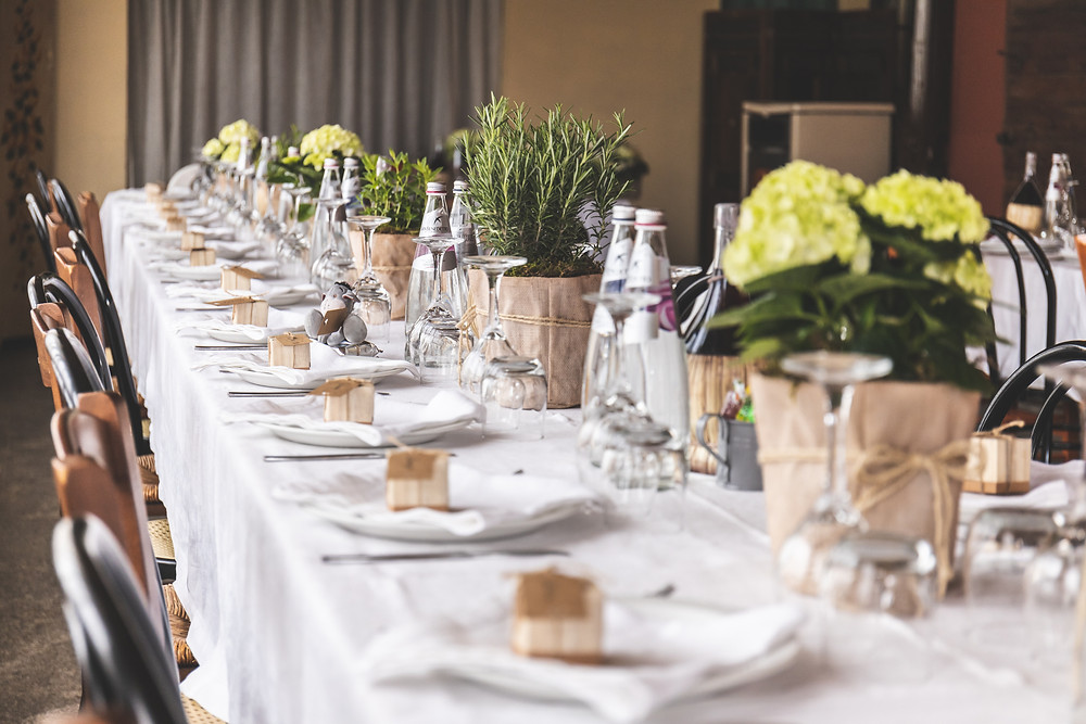 Fine Dining Table and Napkin Hire