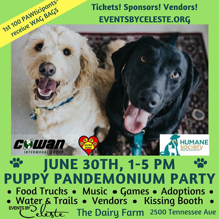 1st Annual Puppy Pandemonium Party