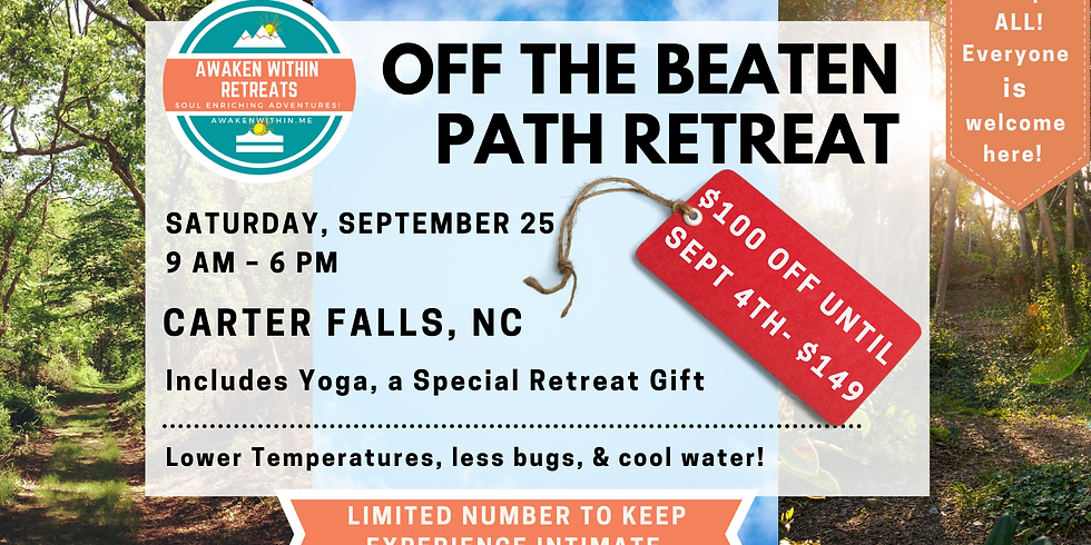Off the Beaten Path Retreat