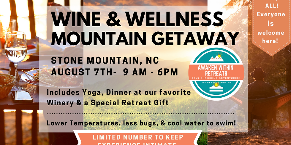 Wine & Wellness Mountain Getaway