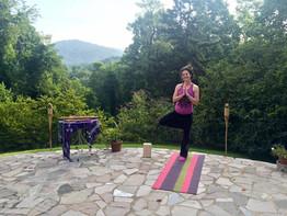 Natalie Fox at an AwakenWithin.me retreat
