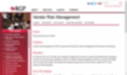 RGP's Vendor Risk Management Experience