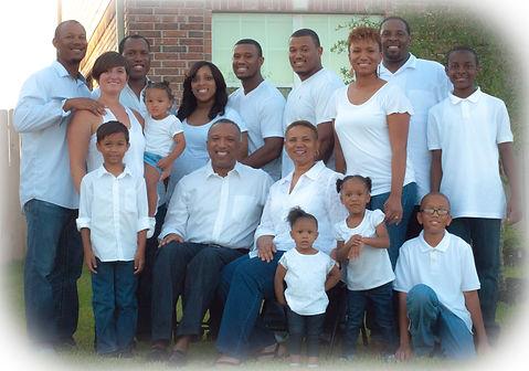 Senior Pastor and Family
