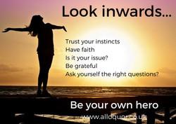 Look inwards... (1)