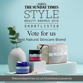 Shortlisted for the Sunday Times
