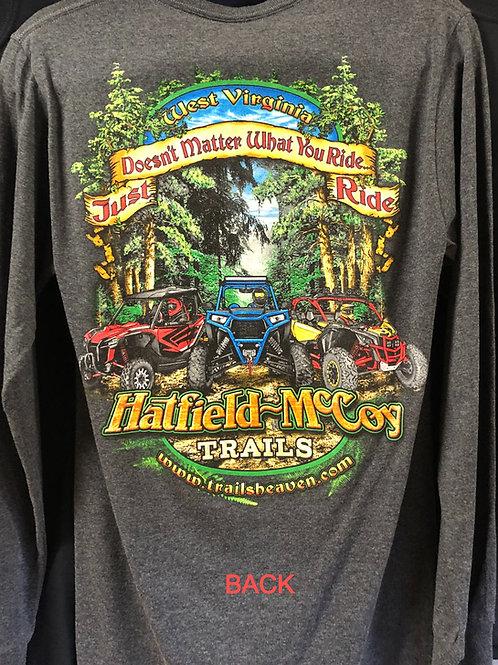 Just Ride Hatfield McCoy Trails Long Sleeve