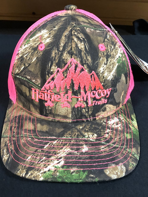 Hatfield McCoy Trails Camo/Hot Pink