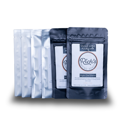 Single Serving Pour Over Travel Pack - Rich's Micro Roast