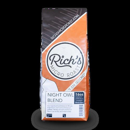 Night Owl Blend - Rich's Micro Roast