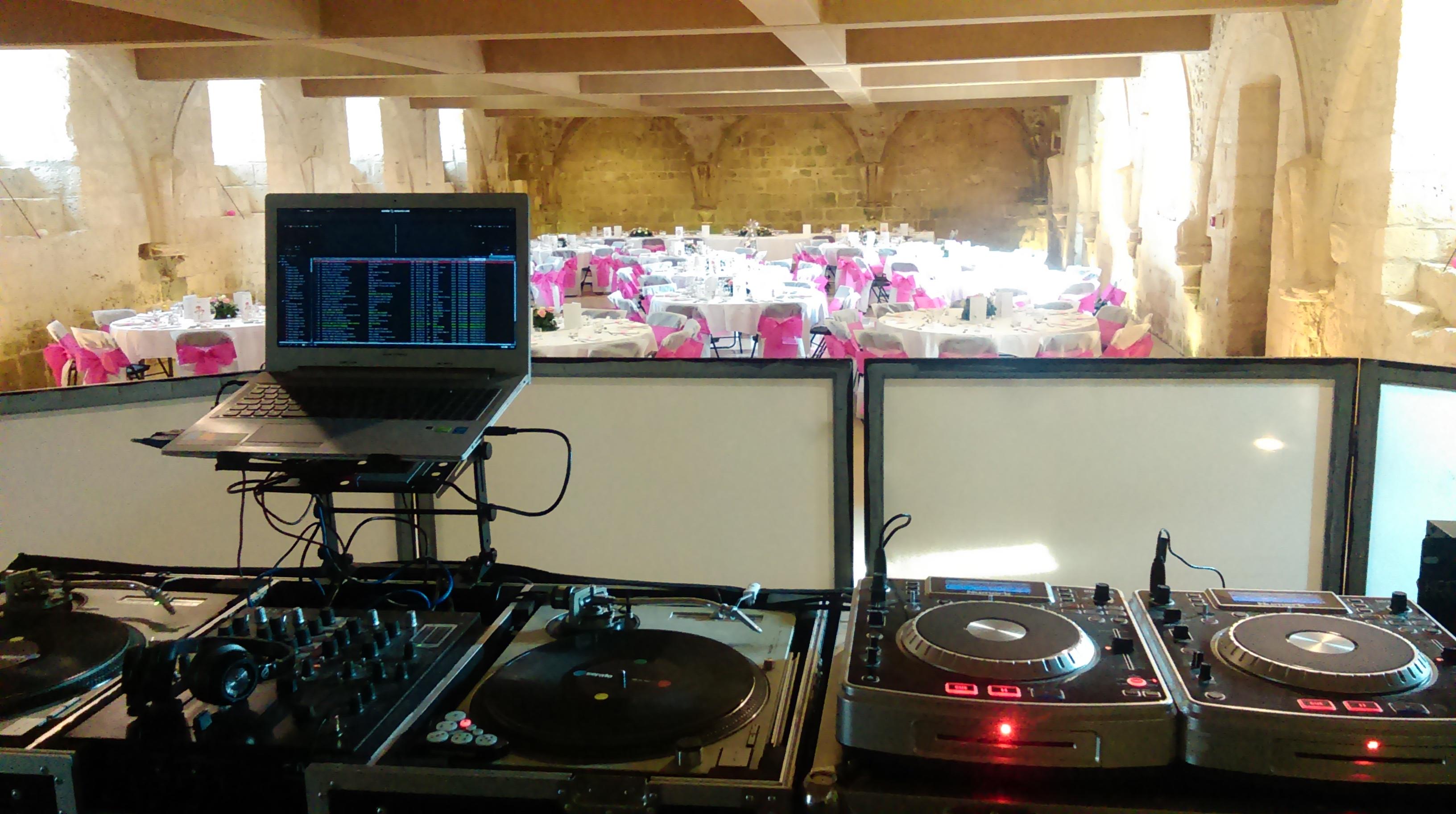 DJ Pro Mariage Abbaye Fontdouce