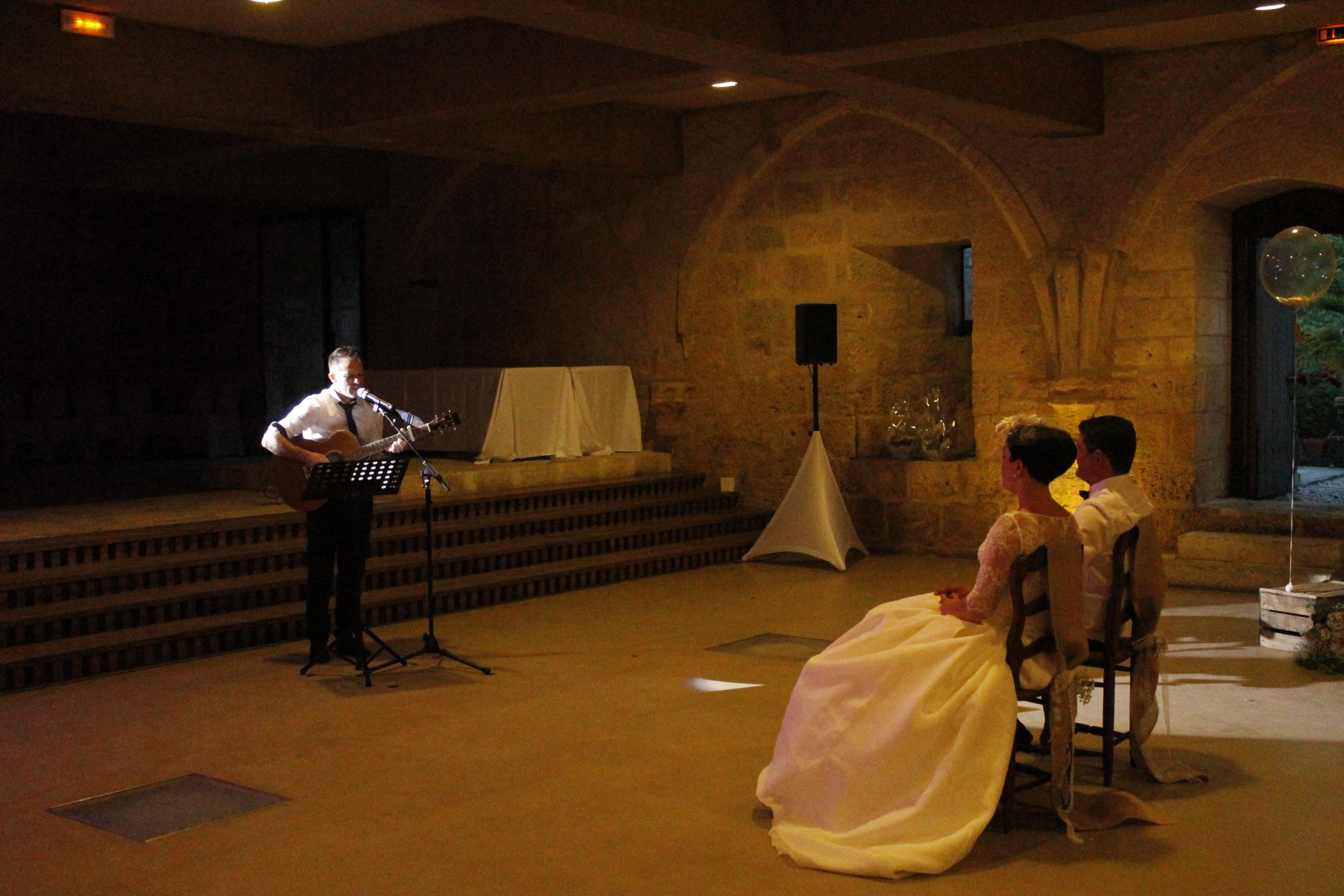 Mise en avant des Mariés