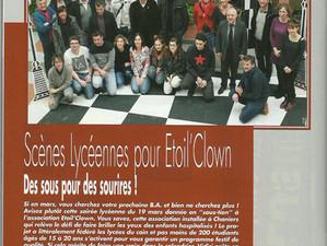 """Articles de presse """"Etoil' Clown"""""""