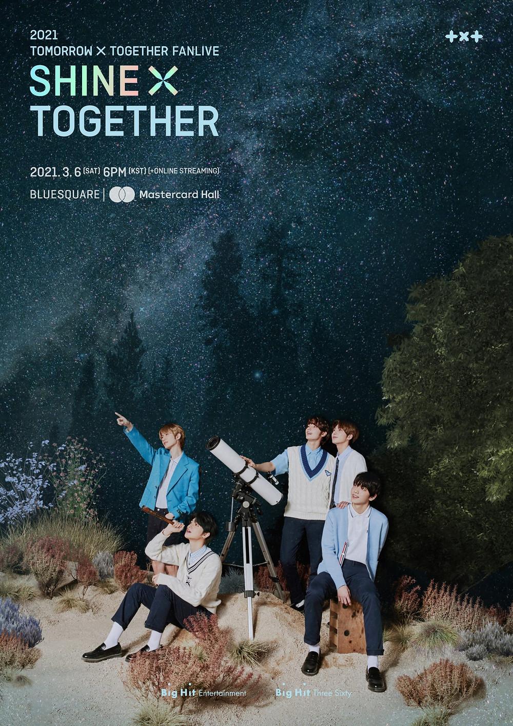 TXT fanlive shine x together