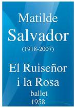 946 Matilde SALVADOR El Ruisenor i la Ro