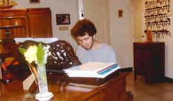 Corentin Boissier at the piano