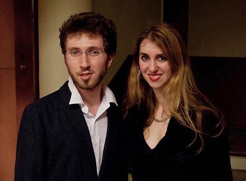 Composer Corentin Boissier and concert p