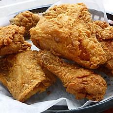 Regular Broasted Chicken Dinner