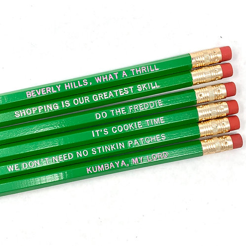 Beverly Hills What a Thrill Pencil Set