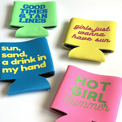 Summer Bright Can Coolers