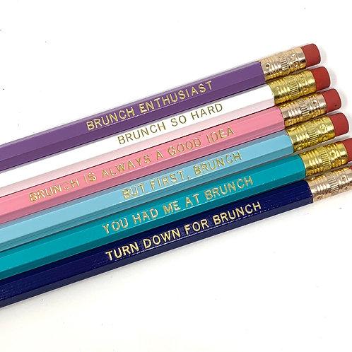 Brunch Lover Pencil Set