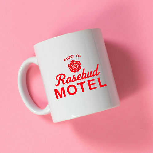 Rosebud Motel Mugs - 2 Designs!