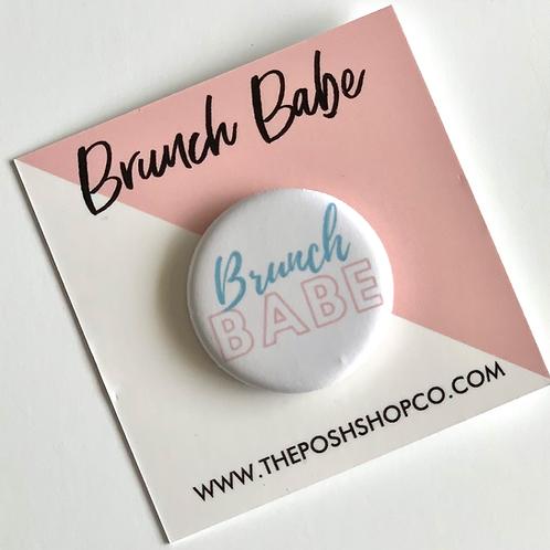 Brunch Babe Button